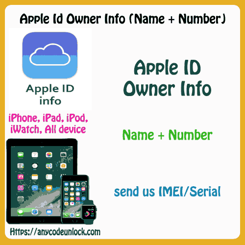 Apple info - Verizon USA Only (Owner Info from Carrier Database) By IMEI  100% Success